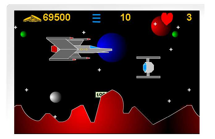 Star Wars Ships. Found this star wars ship game